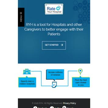 Rate Your Hospital 2.1 poster