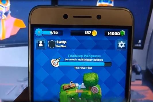 Free Gems Clash Royale Tips screenshot 1