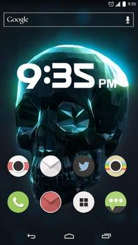 Crystal Skull Live Wallpaper apk screenshot