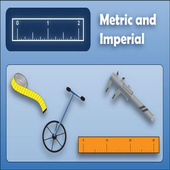 US - Metric unit conversion icon