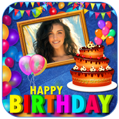 Birthday Greeting Cards Maker icon