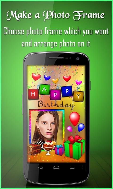 Birthday greeting cards maker for android apk download birthday greeting cards maker poster m4hsunfo