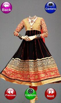 Indian Women Salwar Photo Suit apk screenshot