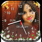 Photo Clock Live Wallpaper icon
