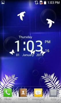 Photo Clock Live Wallpaper apk screenshot