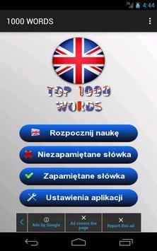 Angielski - 1000 słów screenshot 18