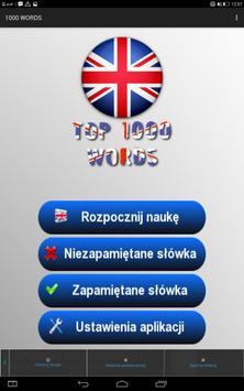 Angielski - 1000 słów screenshot 13