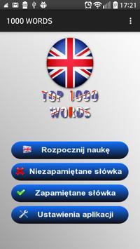 Angielski - 1000 słów screenshot 4