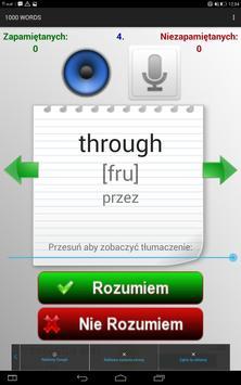Angielski - 1000 słów screenshot 8