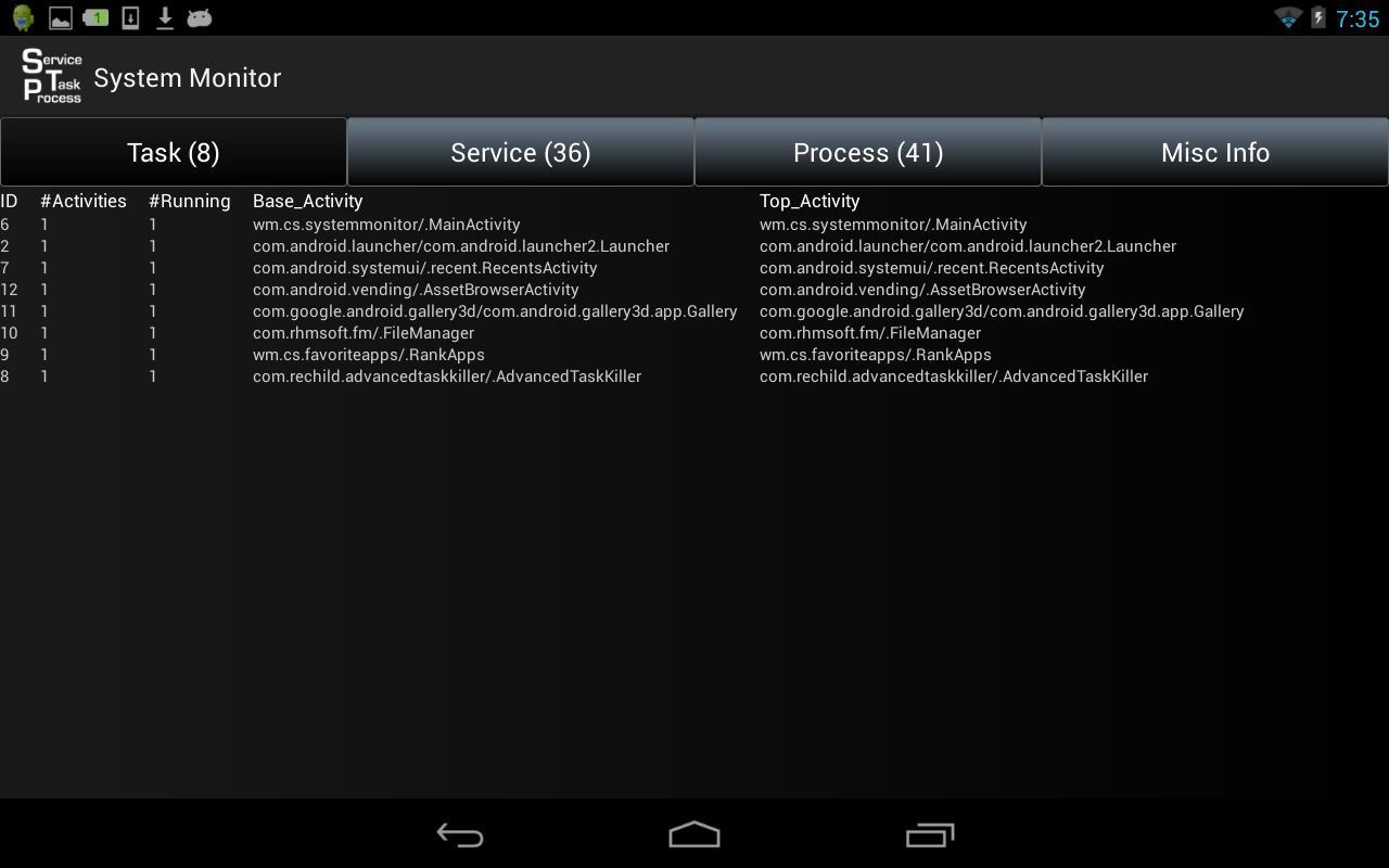 Task Service Process Monitor For Android Apk Download