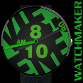 WATCH FACE CASUAL BIG GREEN icon