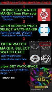 WATCH FACE CASUAL BIG GREEN apk screenshot