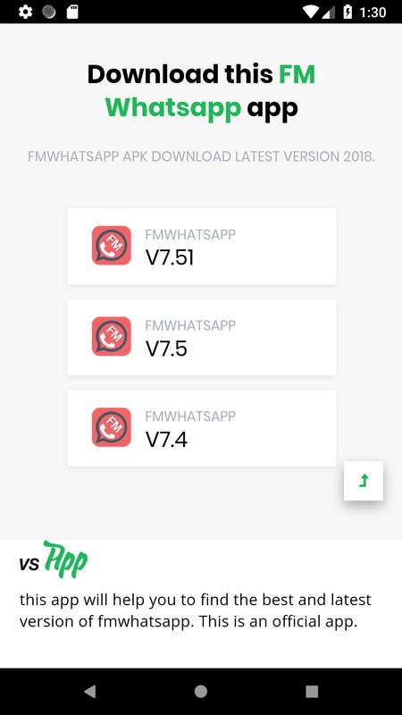 fm whatsapp apk download latest version