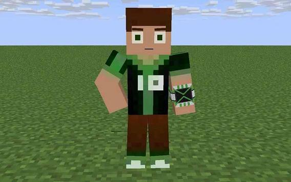 Skin Ben For MCPE For Android APK Download - Skins para minecraft pe ben 10