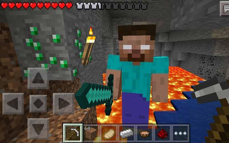 Skin Herobrine For Mcpe For Android Apk Download