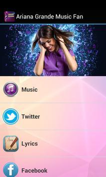 Ariana Grande Music Fan poster