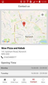 WOW Pizza & Kebab - Norwich apk screenshot