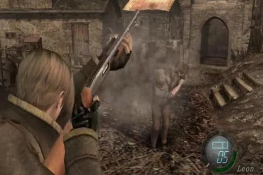 Hint Resident Evil 4 poster