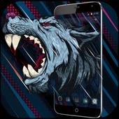 Roar Blood Wolf wallpaper icon