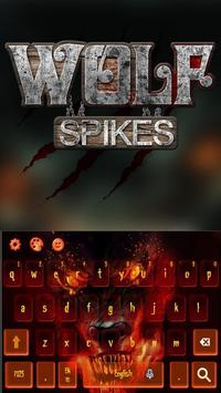 Wolf Spikes Keyboard Theme poster