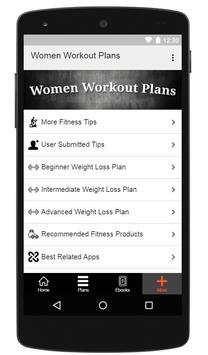 Women Workout Plans screenshot 7