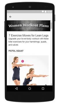 Women Workout Plans screenshot 2