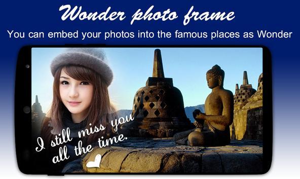 Ever Wonder Photo Frame poster