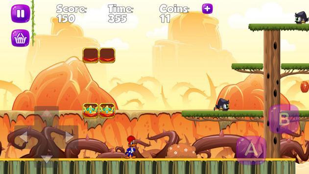 Super woody Adventure Woodpecker Game screenshot 3