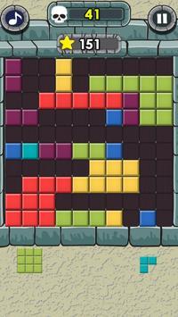Rock Block Puzzle poster