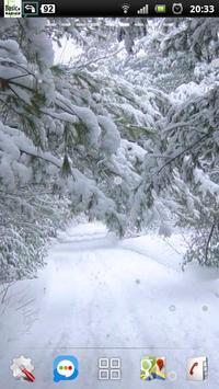 snowfall winter road lwp screenshot 3