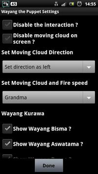 wayang shadow puppet lwp apk screenshot