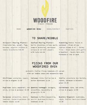 WoodFire poster