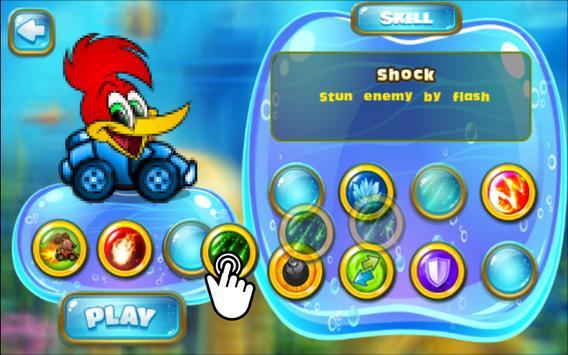 The turbo kids Wody: runner woodpecker screenshot 2