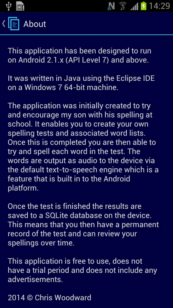 Spelling Test for Android - APK Download