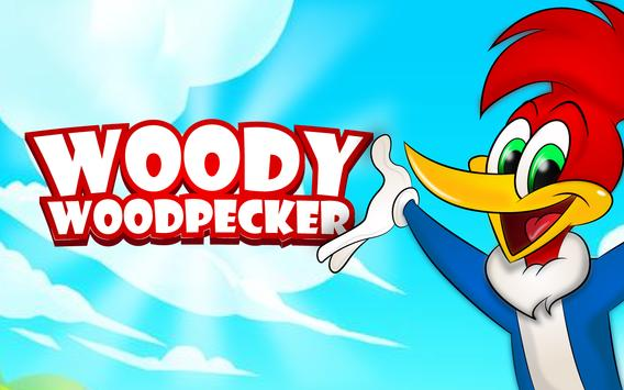 The woodpecker of jungle : wody poster