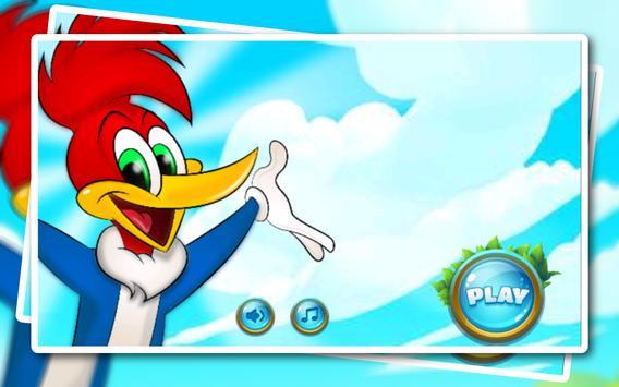 The woodpecker of jungle : wody screenshot 1