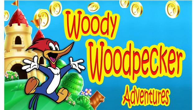 Woody Wood Super Woodpecker Adventure World poster