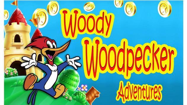 Woody Wood Super Woodpecker Adventure World screenshot 1