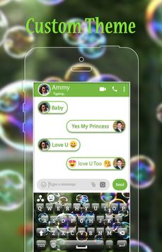 Bubble Keyboard Theme apk screenshot