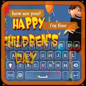 Children's Day Keyboard Theme icon