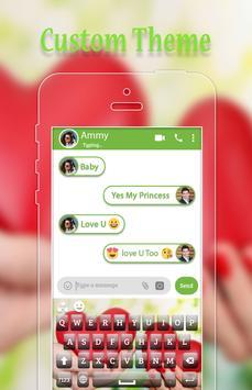 Fluffy Heart Keyboard screenshot 1