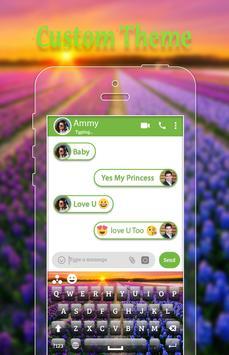 Garden Keyboard Theme apk screenshot