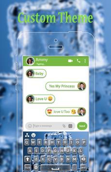 Ice Cube Keyboard Theme apk screenshot