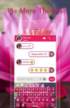 Lotus Keyboard Theme screenshot 2