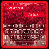 Rose Petal Keyboard Theme icon