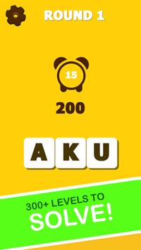 Word Scramble New: Word Puzzle Game screenshot 1