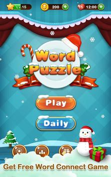 Word Connect Puzzle- Word Search Christmas Edition poster