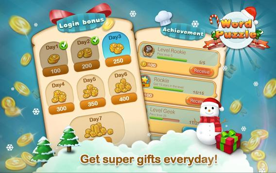 Word Connect Puzzle- Word Search Christmas Edition screenshot 7