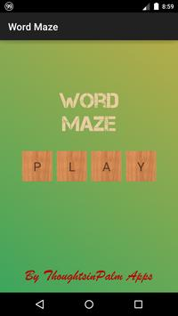 Word Maze poster