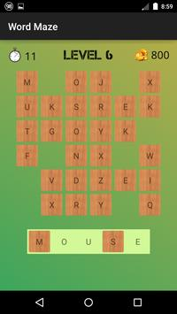 Word Maze apk screenshot